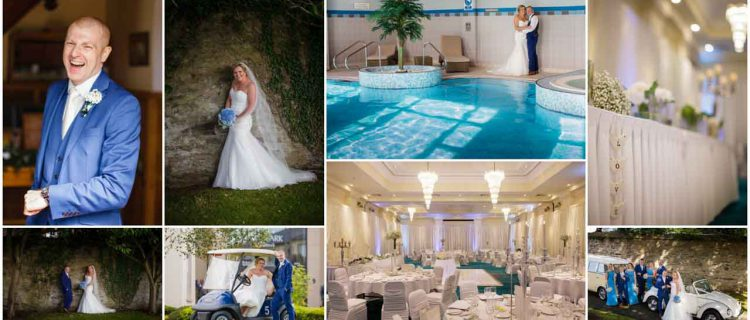 married in swimming pool