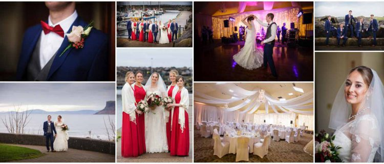 Weddings at Marine Hotel Ballycastle