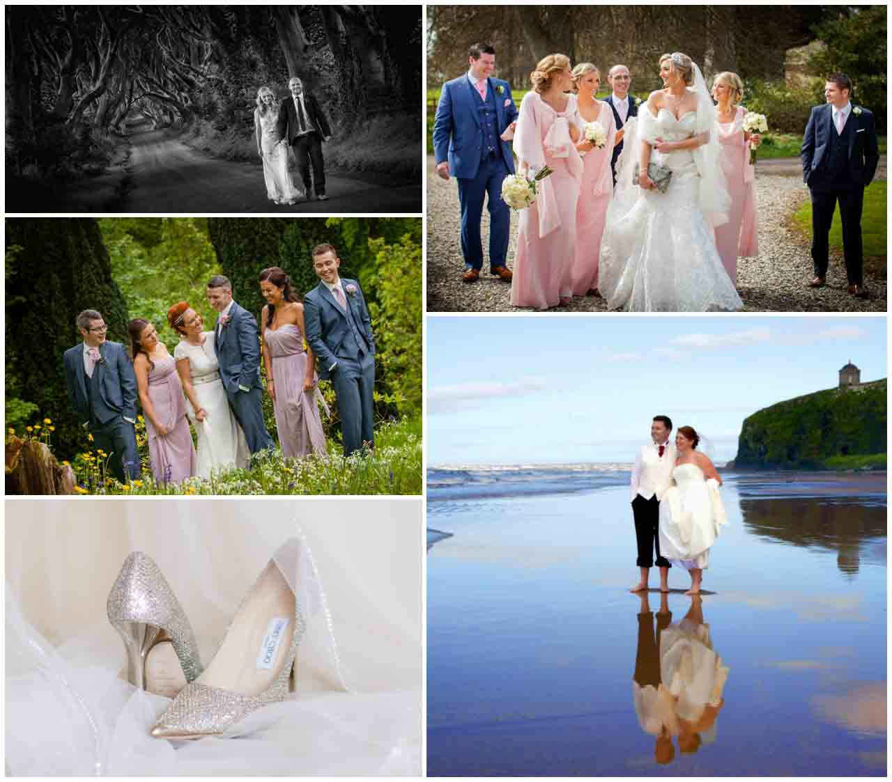 wedding photo locations in northern ireland