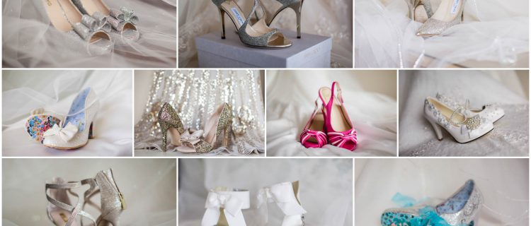 shoes for brides on their wedding day