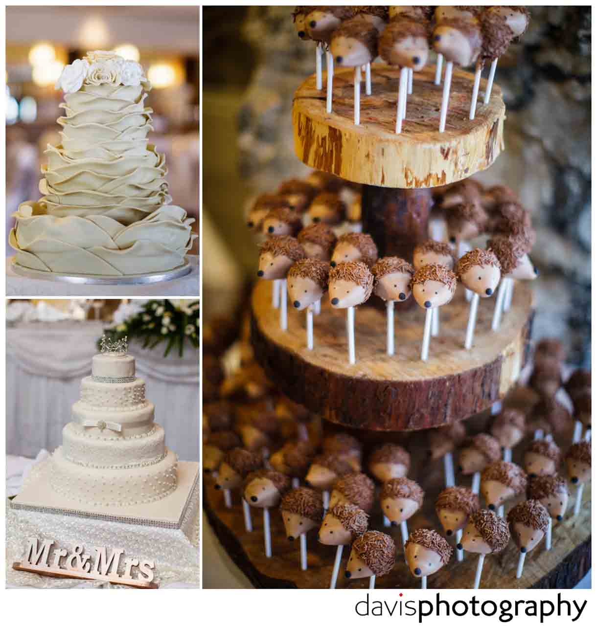 wedding cake lollies