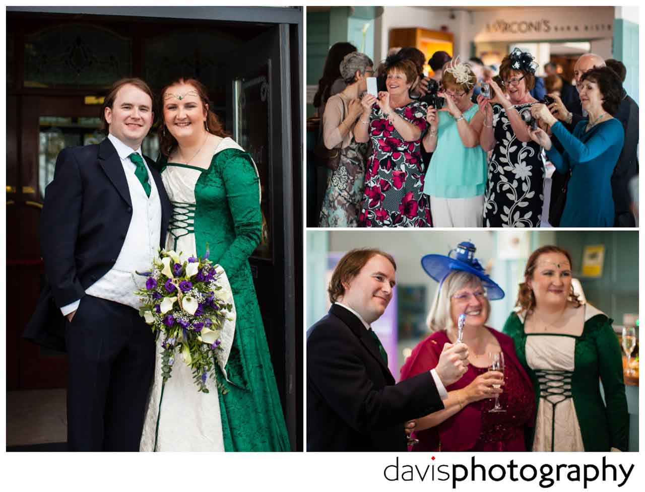 wedding at The Marine Hotel Ballycastle