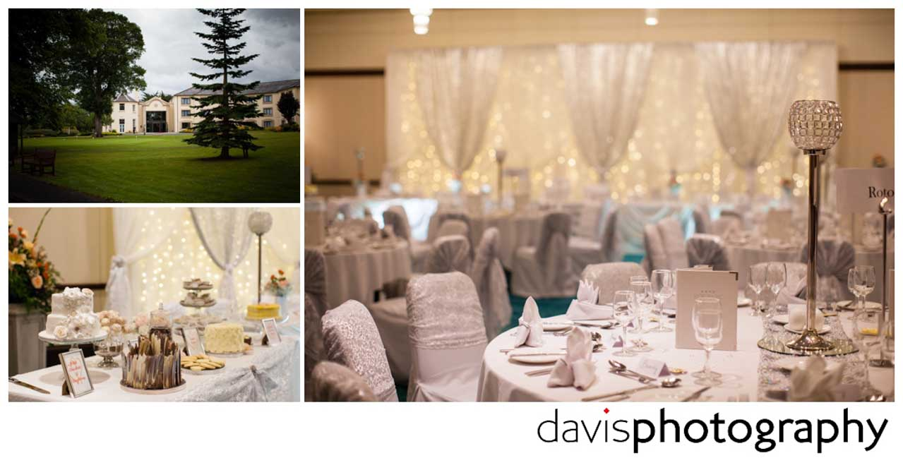 wedding day at roe park resort