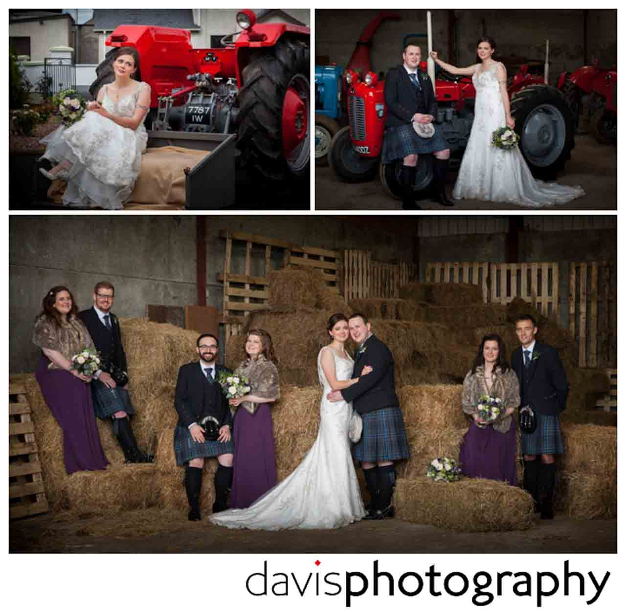 farmyard wedding
